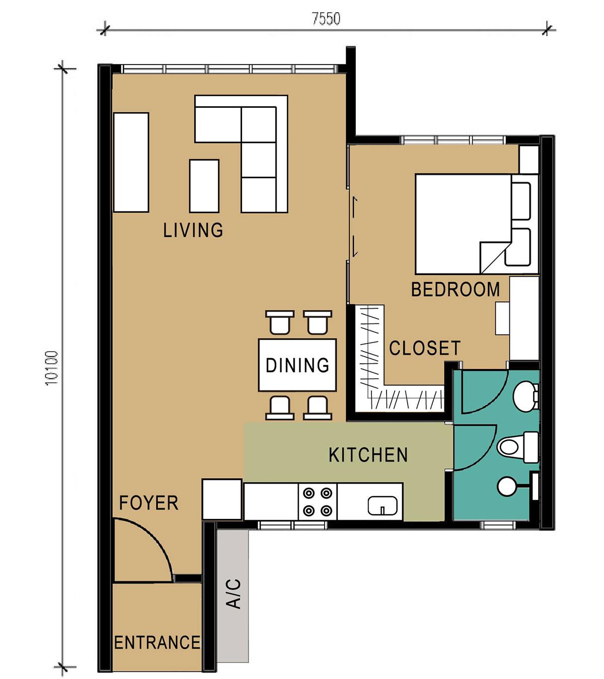 D'Suites - Type D